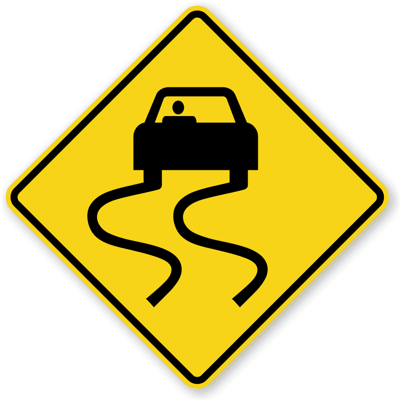 slippery-wet-car-sign-x-w8-5