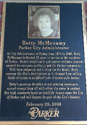 Betty McMenamy