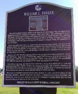 William C Parker Marker