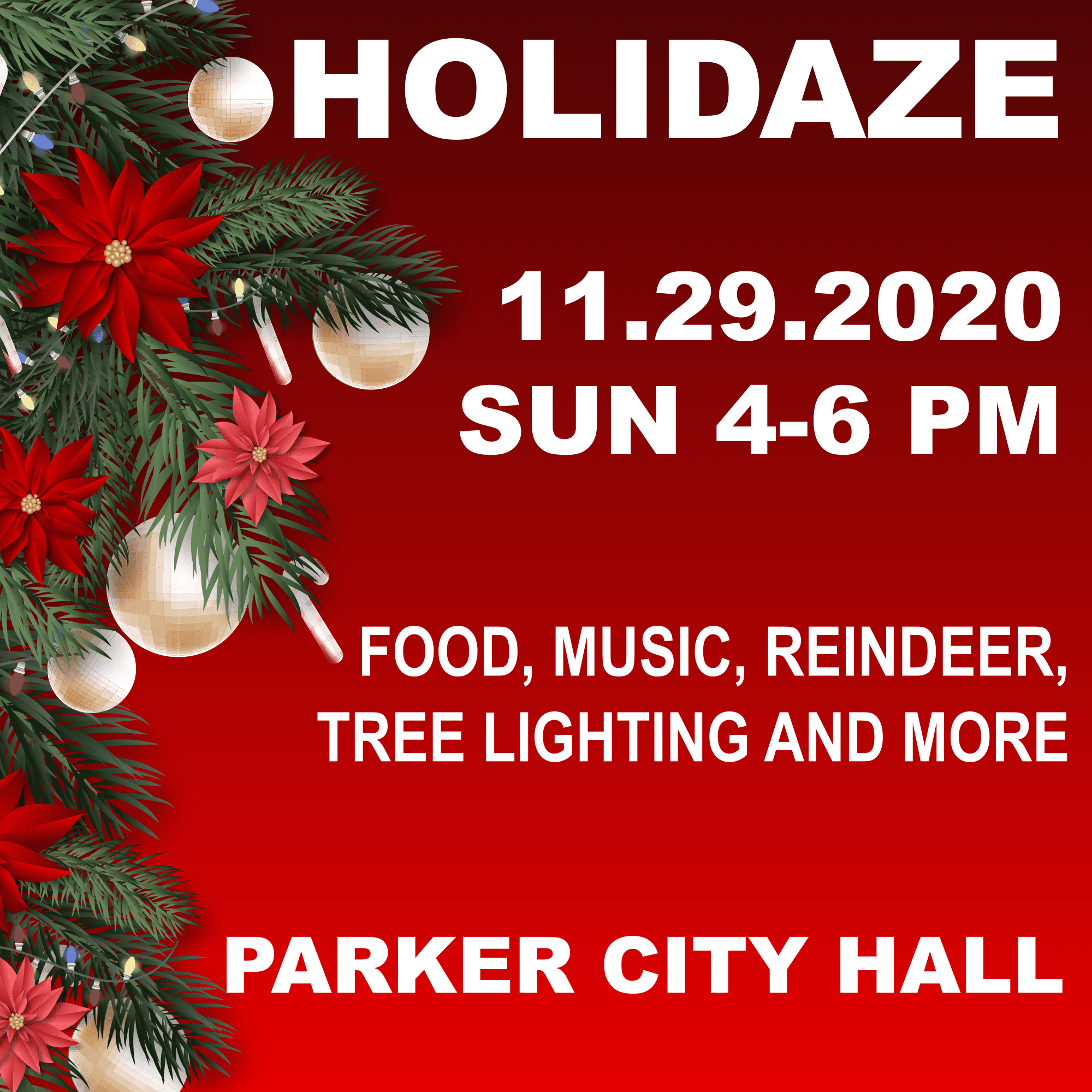 Holidaze Event 2020